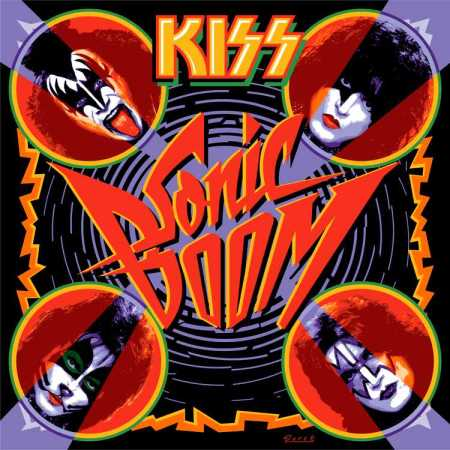 Kiss - Sonic Boom -  Front