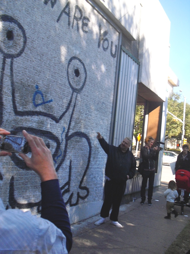 Live daniel johnston austin 30 days out for Austin frog mural