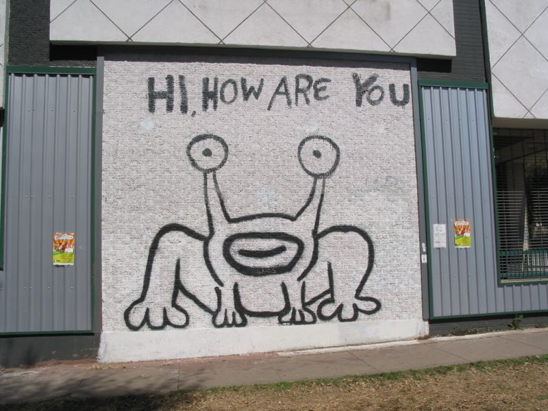 Live daniel johnston austin 30 days out for Daniel johnston mural