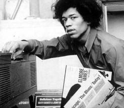 Hendrix playing Elmore James
